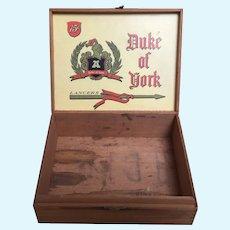 Wood, Cigar Box for making Doll Presentation Box