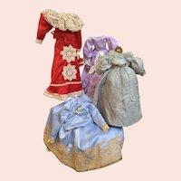 4 Contemporary Doll Dresses