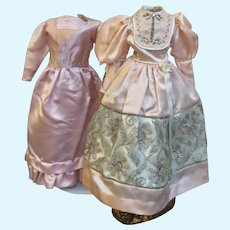 2 Well Made Doll Dresses