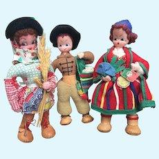 Mascotes, Cloth Souvenir Dolls