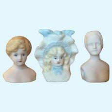 Three Shoulder Plate Doll Head