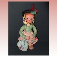 Maria Helena Cloth Doll