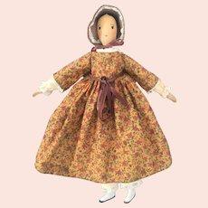 Alice Wainwright Wood Doll