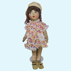 Raynal, French Cloth Doll