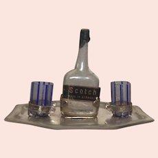 Miniature German Liquor Set