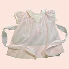 Pale pink baby dress