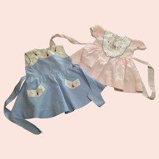 Two unique toddler dresses