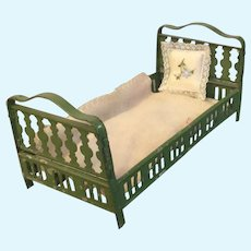Small, Metal Bed