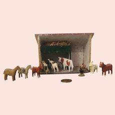 Miniature German Animal Stable