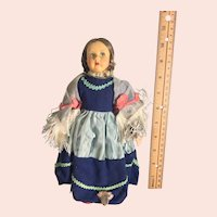 Lenci Type masked Face Doll