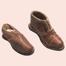 Leather Sample Shoes- Madeira