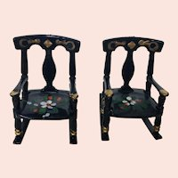 Two Renwal Plastic Rocking Chairs