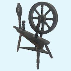 Miniature Metal Spinning Wheel
