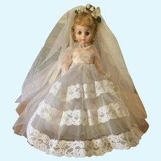 Madame Alexander 1970's Bride