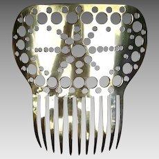 Spanish style hair comb vintage comb hair ornament hair accessory