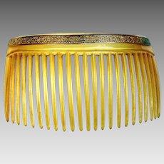 Edwardian hair comb Gibson Girl style hair accessory