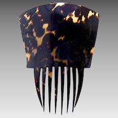 Victorian tortoiseshell Spanish mantilla style hair comb hair accessory