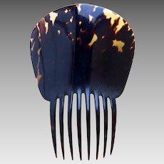 Tortoiseshell Spanish mantilla style hair comb hair ornament