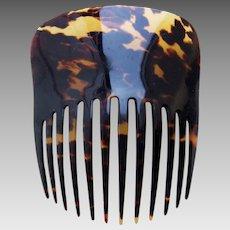 Victorian faux tortoiseshell Spanish mantilla style hair comb hair ornament