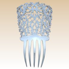 Mid century Spanish hair comb bridal summer wedding hair ornament