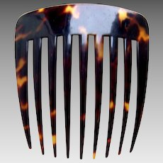 Victorian classic faux tortoiseshell hair comb hair ornament