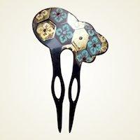 Japanese kanzashi hair comb Geisha hair accessory