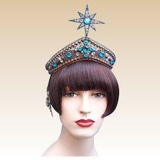 Art Deco Oriental Egyptian Revival headdress Arabian Nights hair accessory