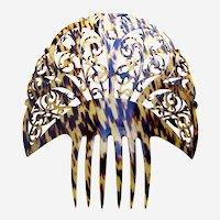 Oversized Spanish mantilla style hair comb classic design hair ornament