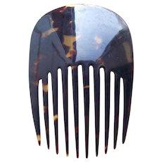 Classic Victorian tortoiseshell hair comb Spanish style hair accessory