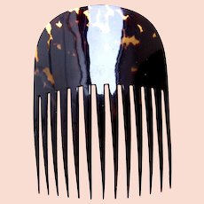 Faux tortoiseshell hair comb Spanish mantilla hair accessory