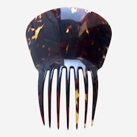 Victorian tortoiseshell hair comb classic Spanish hair accessory
