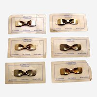 Quality brass hair clip accessory or hair slide lot suitable doll or child