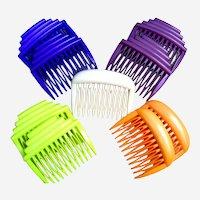 9 Buch and Deichmann Denmark retro hair combs multi colour mix