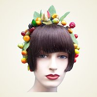 Artificial fruit theatrical or wedding wreath headdress or headpiece (AAG)