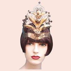 Indonesian traditional wedding headdress from Java (AAB)