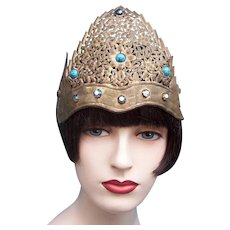 Indonesian traditional wedding headdress from Java (AAE)