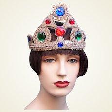 Art Deco flapper style headband oriental bandeau headpiece