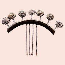 Indonesian traditional wedding hair comb or rhinestone headdress