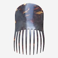 Victorian tortoiseshell hair comb in the Spanish style hair ornament