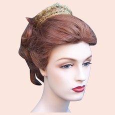 Regency fire gilded tiara headdress entwined snakes headpiece