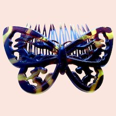 Classic Goody butterfly design hair comb from 1980s