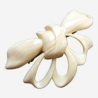 Alexandre de Paris hair barrette large bow design hair ornament