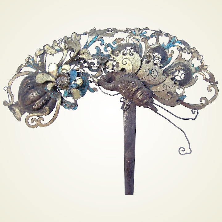 Hair Care & Styling Jewelry & Watches Painstaking Beetle French Barrette Hair Clip Buy Now