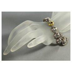 Saint Sarah Jane 18K Sterling Lady Bug Link Bracelet