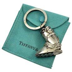 Tiffany & Co Sterling Alpine Ski Boot Key Chain