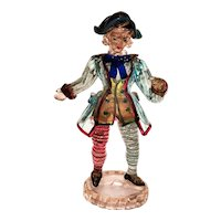 Expertly Crafted Murano Colonial Figure