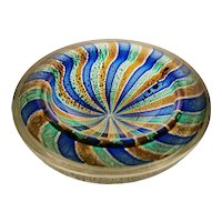 Great Fratelli Toso Bowl, Midcentury Murano