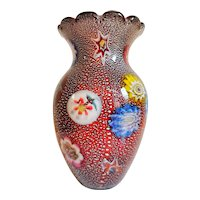 Beautiful Giulio Radi for A.Ve.M. Vase, Murano 1950s