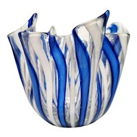 Fazzoletto (Handkerchief) Vase by Fulvio Bianconi for Venini