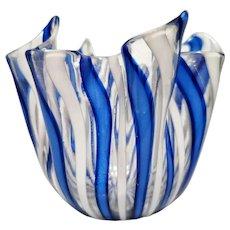 Fazzoletto (Handkerchief) Vase by Fulvio Bianconi for Venini